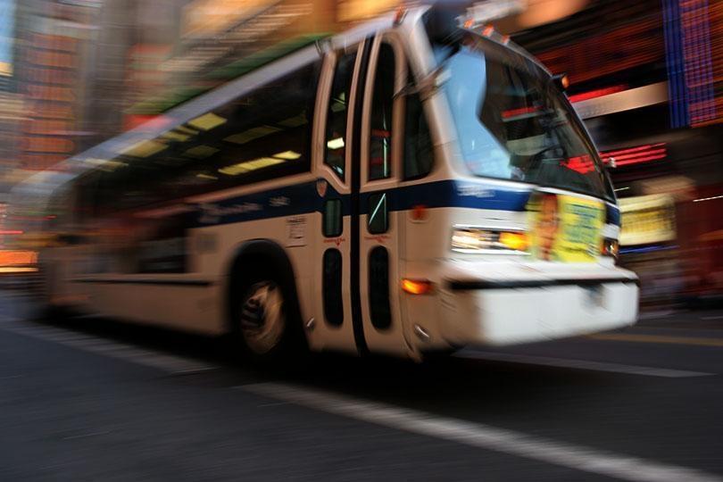 Pasajeros de autobús de NYC 2019