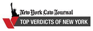 New York Law Journal 2015 | Top Verdicts of New York